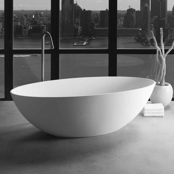 JEE-O DADOquartz Badewanne London Maße 1760 x 820 x 540 mm