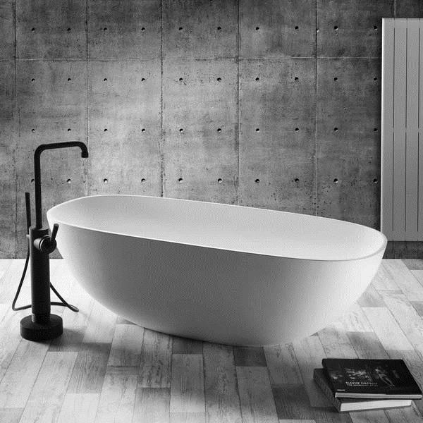 JEE-O DADOquartz Badewanne Amsterdam Maße 1665 x 750 x 475 mm