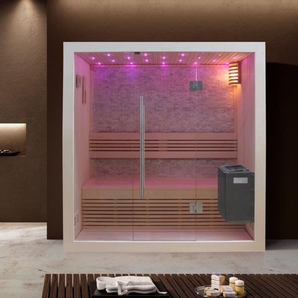 Sauna online kaufen mit Aufbauservice