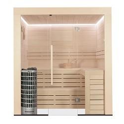 AWT Eago Sauna E1202 Pappelholz