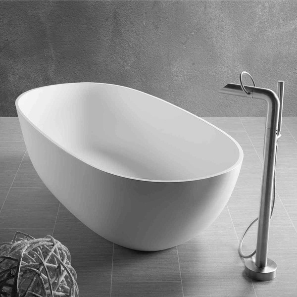 JEE-O DADOquartz Badewanne Dubai Maße 1650 x 830 x 500 mm
